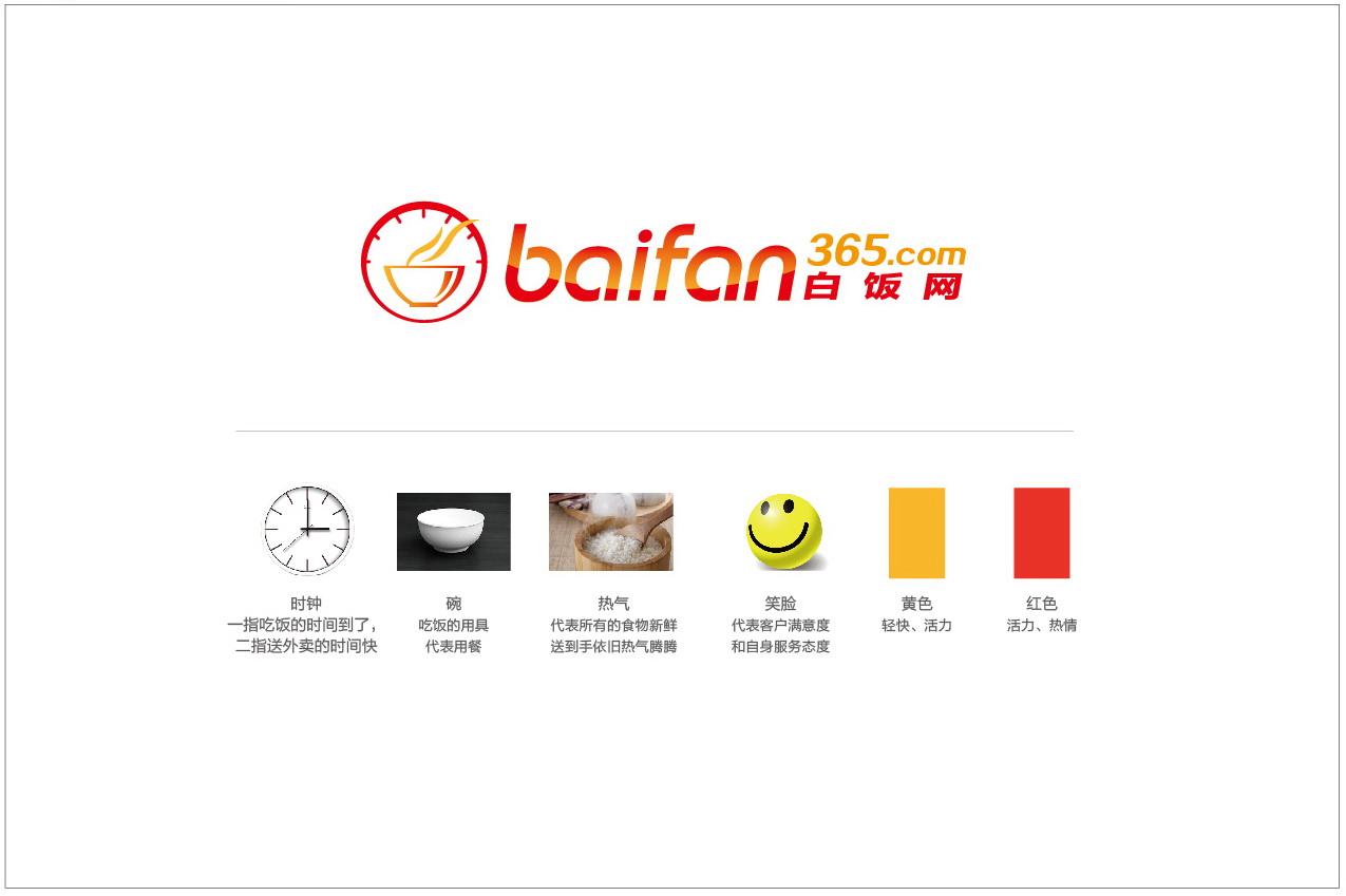 白饭网logo