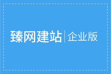 臻网建站企业版一年使用权