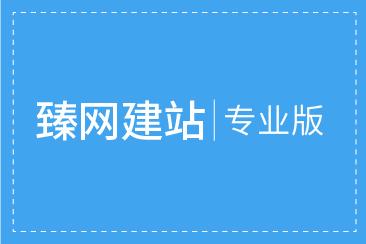 臻网建站专业版一年使用权