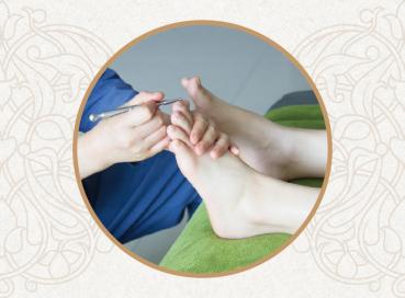 镇店五宝之一:足底反射疗法
